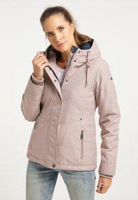 DreiMaster - Winter jacket - nude melange - 0