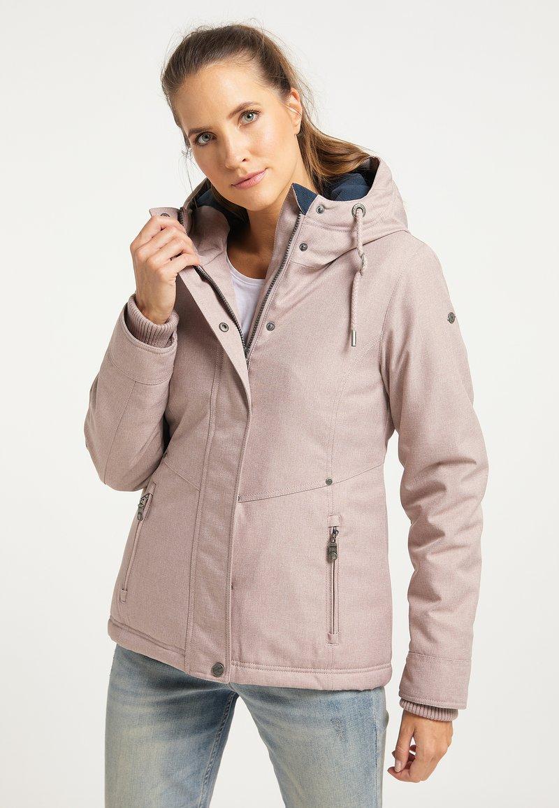 DreiMaster - Winter jacket - nude melange