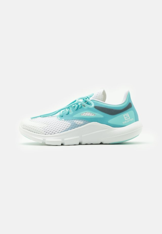PREDICT MOD  - Neutral running shoes - white/tanager turquoise