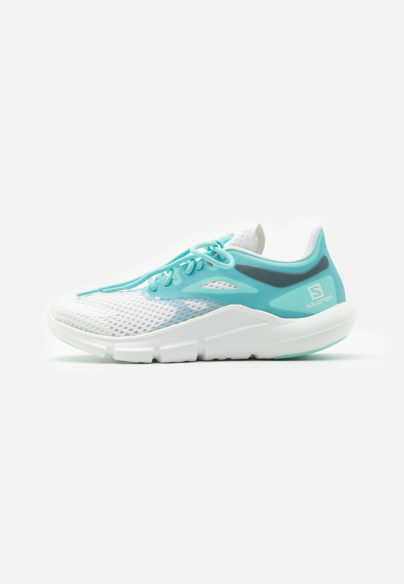 Salomon - PREDICT MOD  - Neutrální běžecké boty - white/tanager turquoise