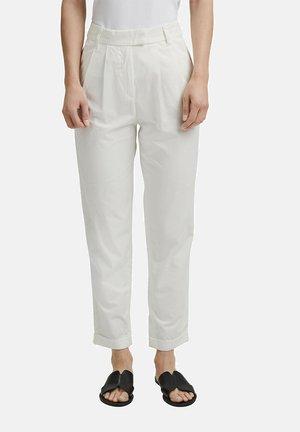 FASHION - Trousers - white