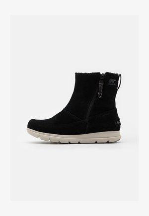 EXPLORER ZIP - Winter boots - black