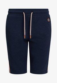 WE Fashion - MET TAPEDETAIL - Shorts - dark blue - 3