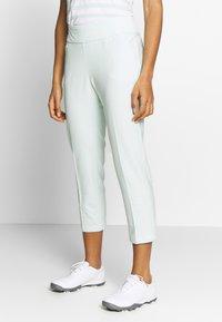 adidas Golf - PULLON ANKLE PANT - Kalhoty - dash green - 0