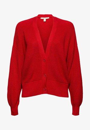 Cardigan - red