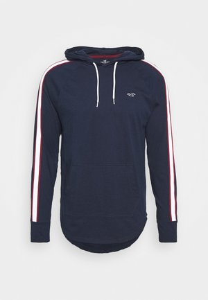 SOLID HOODS - Long sleeved top - navy