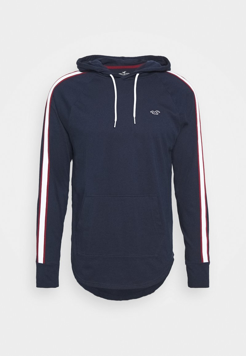 Hollister Co. - SOLID HOODS - Langarmshirt - navy