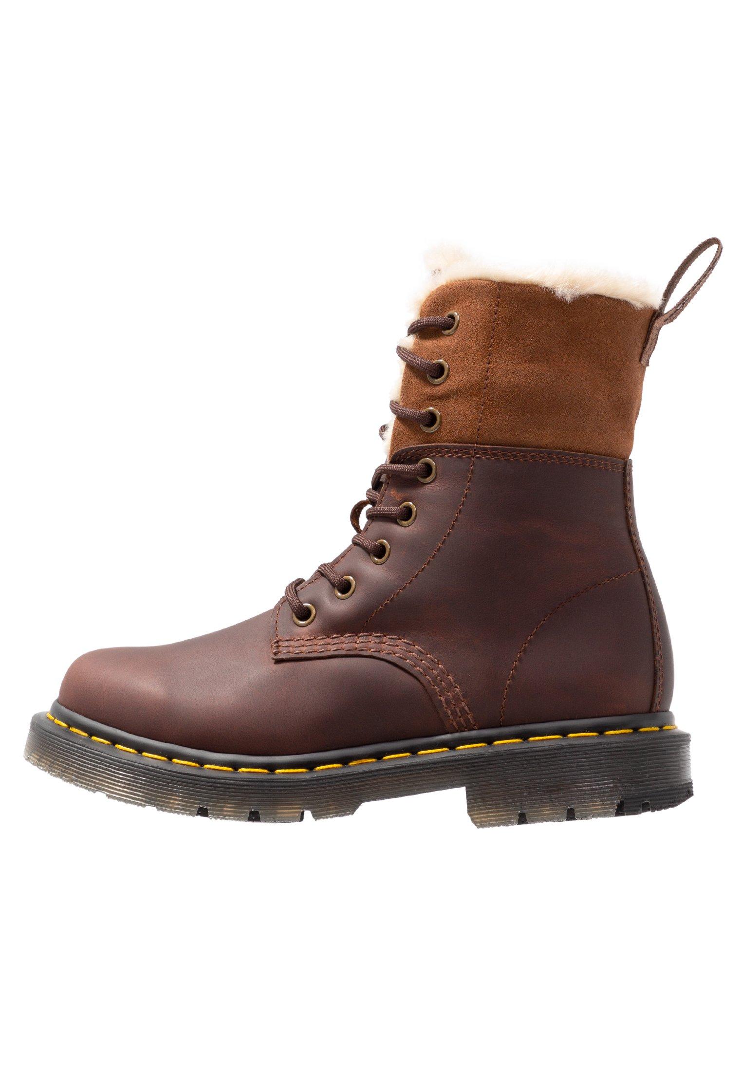 1460 Kolbert Snowplow Boots Dark Brown