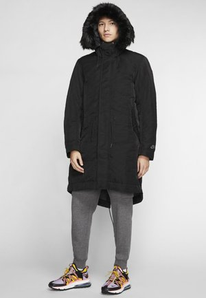 SPORTSWEAR DOWN-FILL HOODIE - Down coat - black