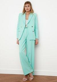 Trendyol - Pantalon classique - light blue - 0
