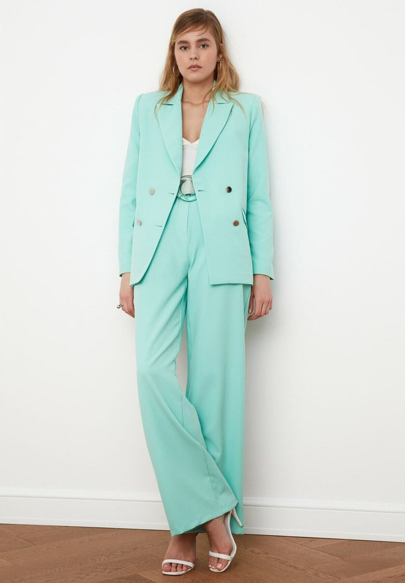 Trendyol - Pantalon classique - light blue