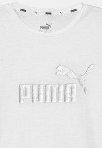 Puma - LOGO UNISEX - Print T-shirt - puma white - 2