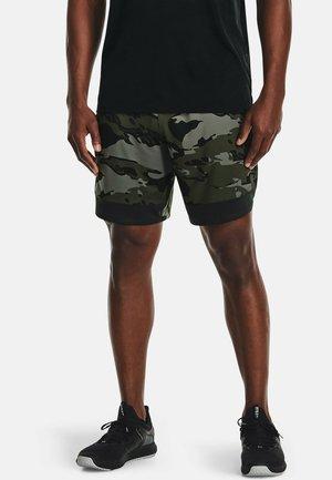 STRETCH CAMO - Sports shorts - baroque green