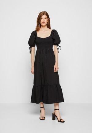 LITHANA MIDI DRESS - Denní šaty - plain black