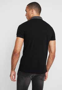 Diesel - T-MILES-NEW POLO SHIRT - Polotričko - black - 2