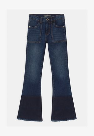 JUNIOR FASHION FIT - Bootcut-farkut - blue denim