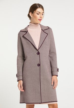 MANTEL - Short coat - bordeaux