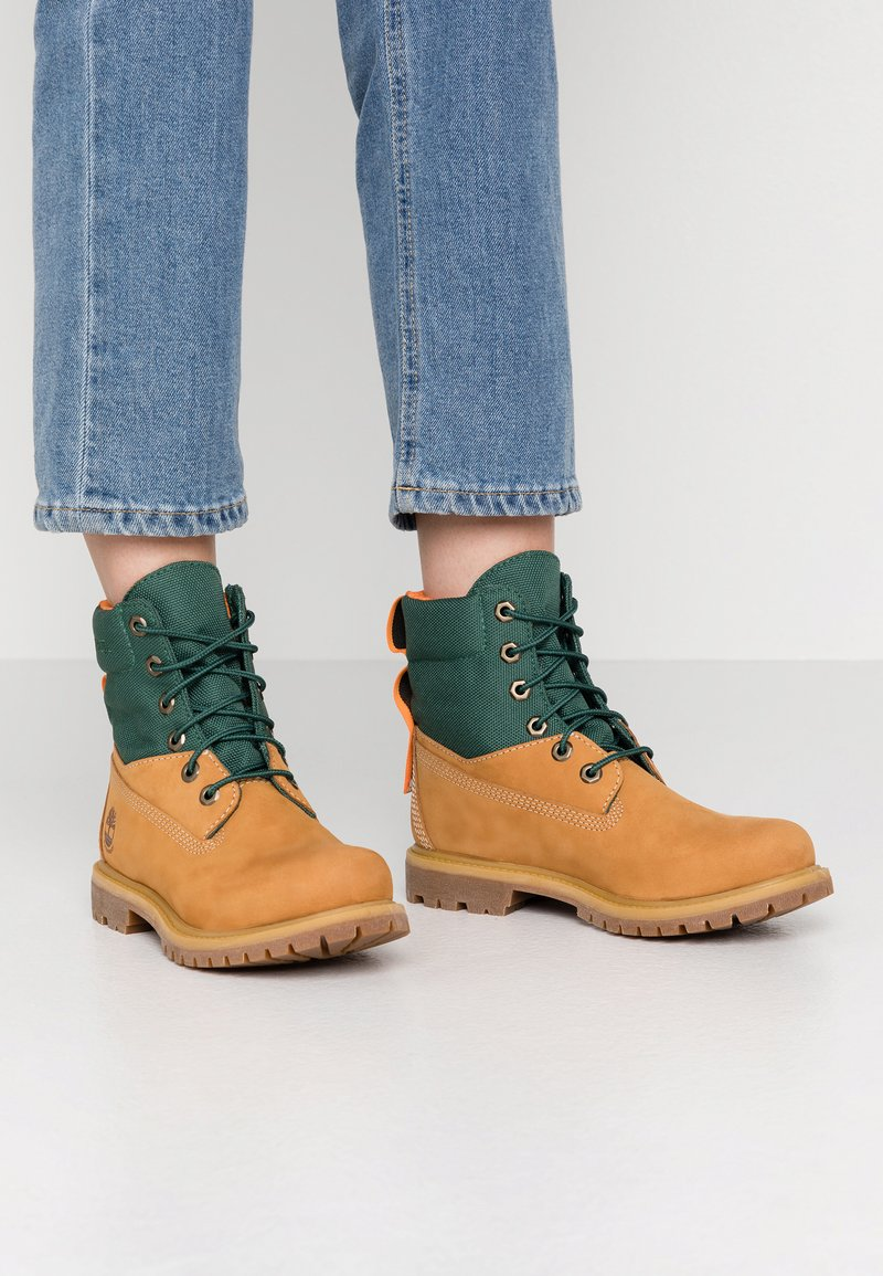 Timberland - 6IN PREMIUM REBOTL WP  - Lace-up ankle boots - wheat