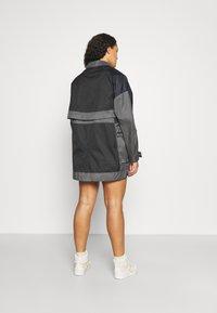 Jordan - NEXT UTILITY JACKET - Short coat - black/iron grey/black - 3