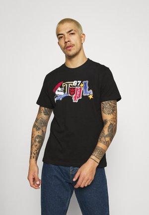 TEE UNISEX - T-shirt con stampa - black
