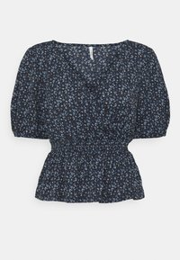 ONLY Petite - ONLPELLA WRAP SMOCK - T-shirts med print - night sky - 0