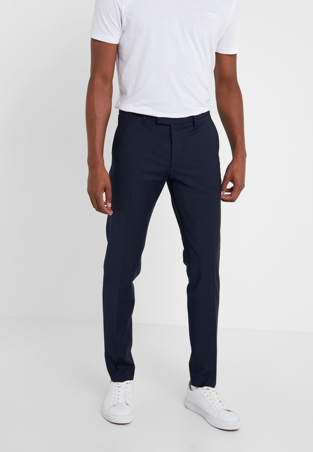PIET - Suit trousers - blue