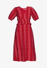 Stevie May - GRACIE MIDI DRESS - Day dress - red - 5