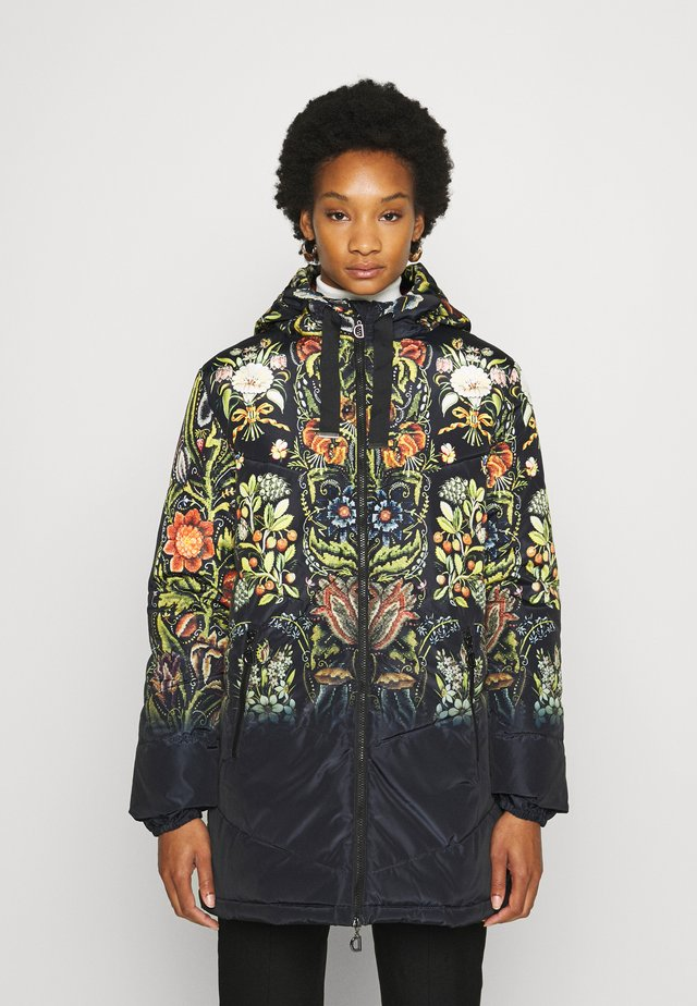 PADDED SAUVAGE DESIGNED BY MR. CHRISTIAN LACROIX - Winter coat - multi-coloured
