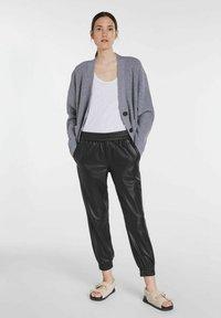 SET - Blouse - grey melange - 1