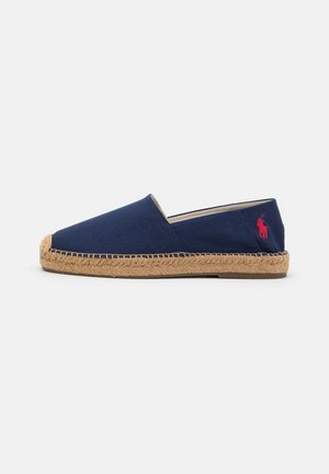 CEVIO SLIP - Espadrillas - newport navy/red