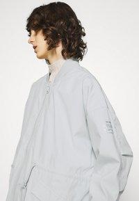 Ecoalf - KELP REVERSIBLE JACKET WOMAN - Short coat - navy - 4