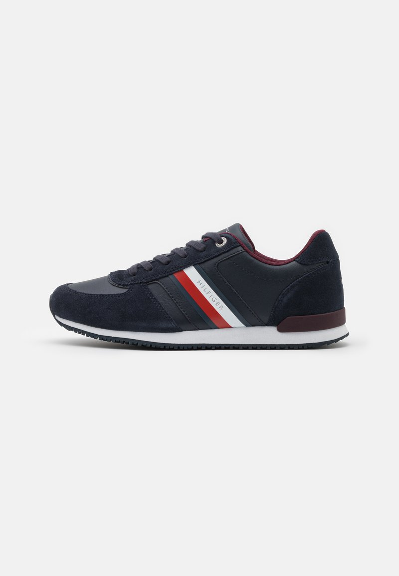 Tommy Hilfiger - ICONIC MIX RUNNER - Trainers - desert sky