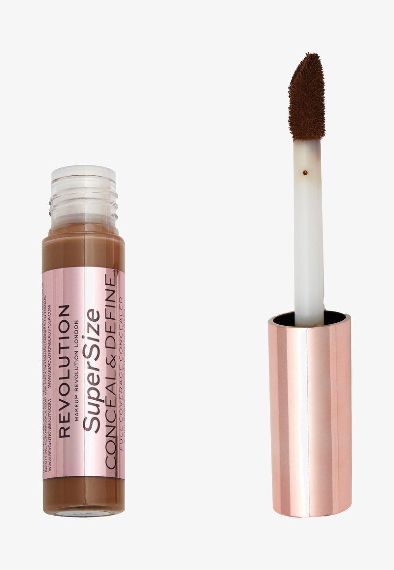 Make up Revolution - CONCEAL & DEFINE SUPERSIZE CONCEALER - Concealer - c15