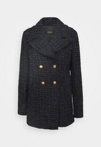 Pinko - PRIMO CABAN COAT - Cappotto corto - blue nero - 0