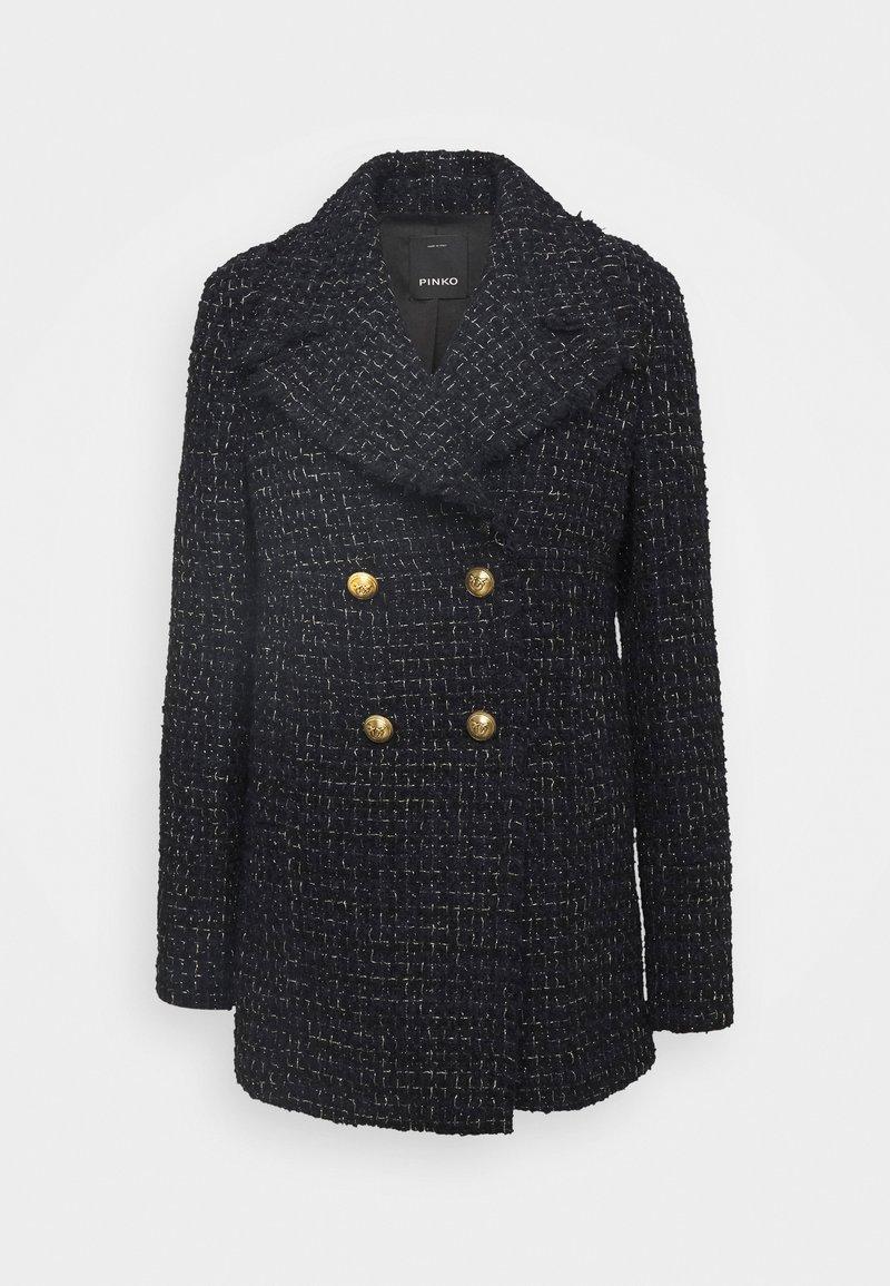 Pinko - PRIMO CABAN COAT - Cappotto corto - blue nero