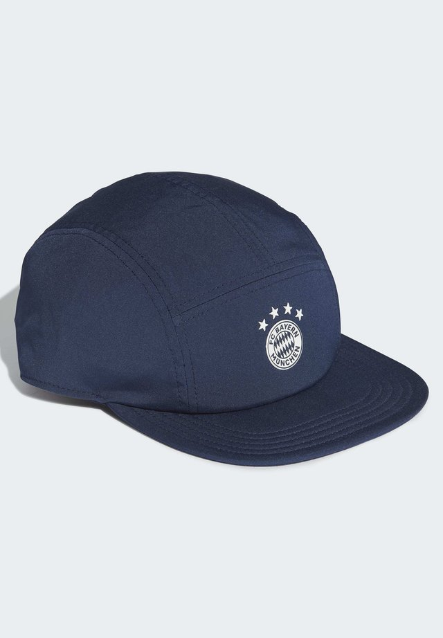 FC BAYERN FIVE-PANEL CAP - Pet - blue