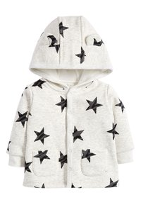 Next - BLUE COSY POPPER LIGHTWEIGHT JACKET (0MTHS-3YRS) - Mikina na zip - grey - 0