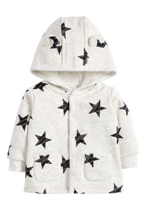 BLUE COSY POPPER LIGHTWEIGHT JACKET (0MTHS-3YRS) - Zip-up hoodie - grey