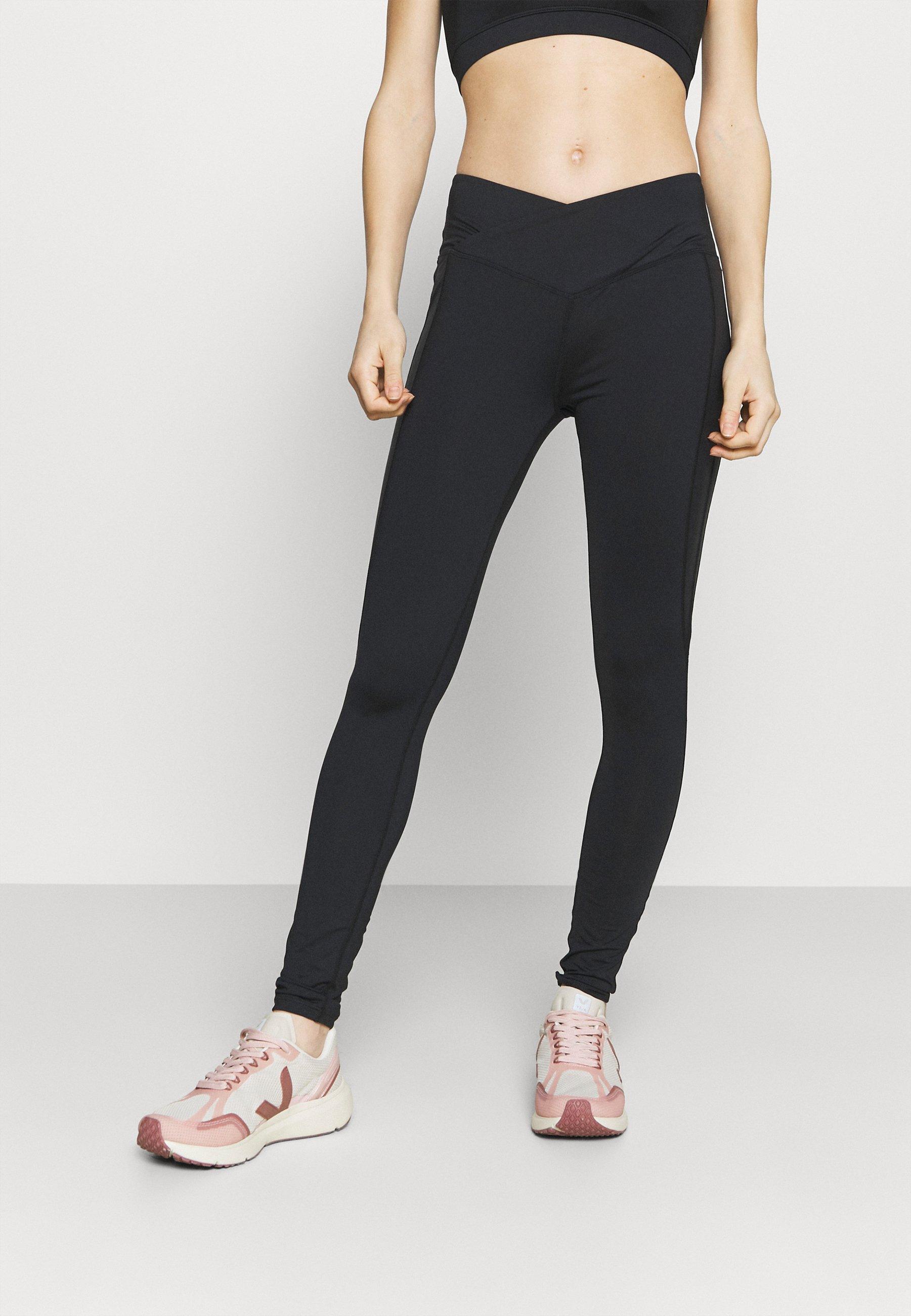 Femme WAIST HIGH WAIST SHINE PANEL - Collants