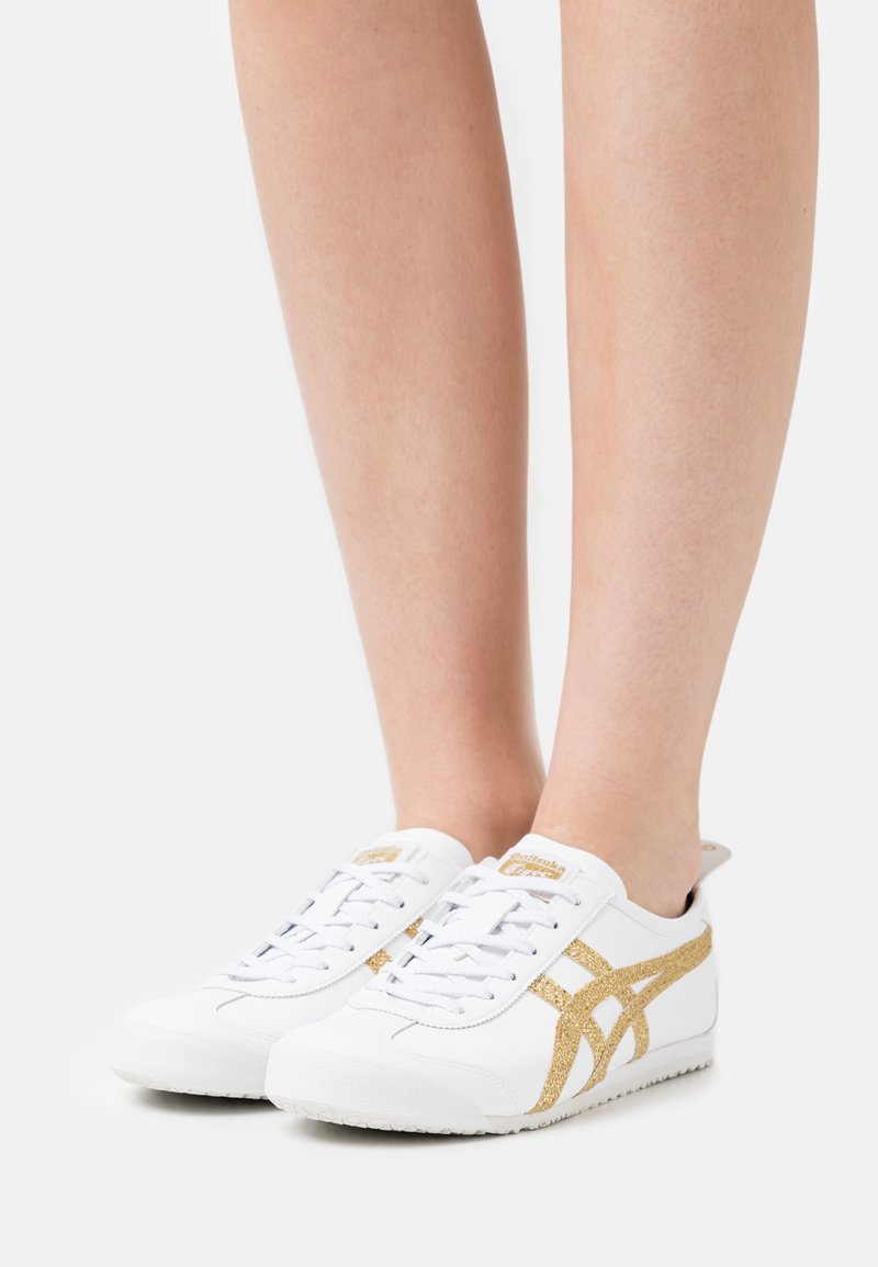 Onitsuka Tiger - MEXICO 66 - Sneakers - white/pure gold