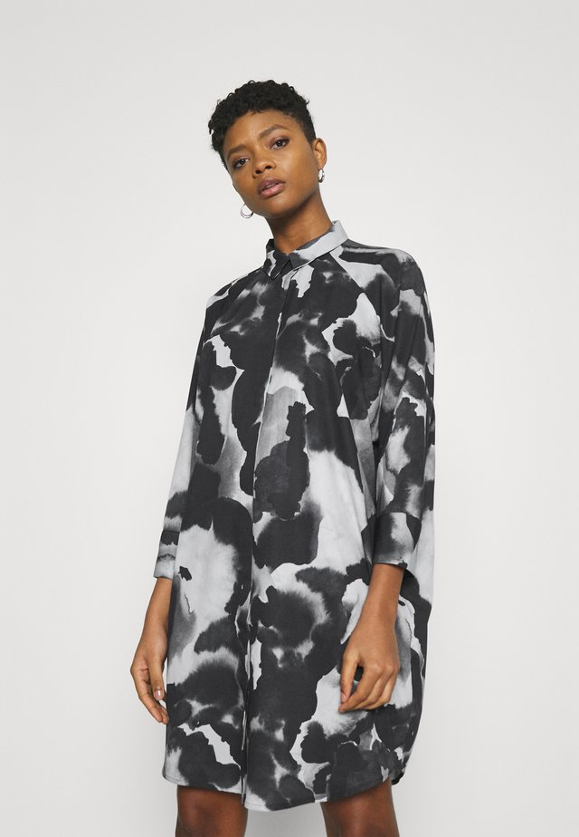 MOA RAGLAN SHIRTDRESS - Blousejurk - dark blue