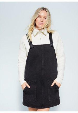 PICCHI - Robe en jean - black denim