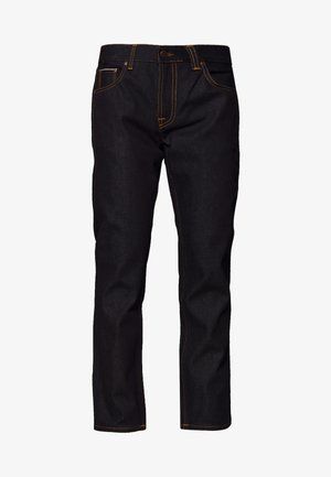 GRITTY JACKSON - Džíny Straight Fit - dark blue denim