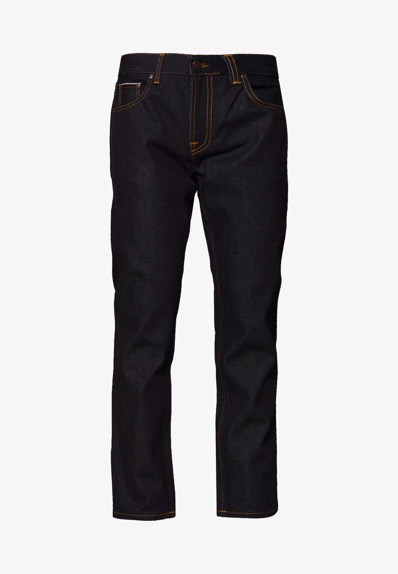 Nudie Jeans - GRITTY JACKSON - Straight leg jeans - dark blue denim