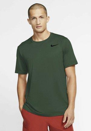 T-shirts basic - sequoia/galactic jade/heather/black