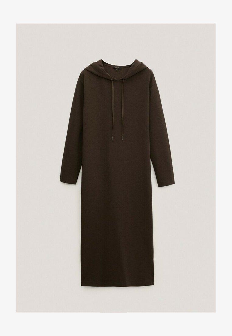 Massimo Dutti - MIT KAPUZE - Day dress - khaki