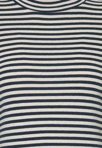 Marc O'Polo - LONG SLEEVE TURTLE NECK - Long sleeved top - multi/dark night - 2
