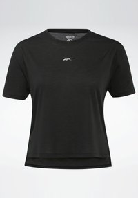 Reebok - T-shirt con stampa - black - 6
