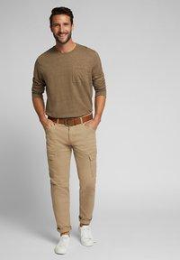 Esprit - Long sleeved top - toffee - 1