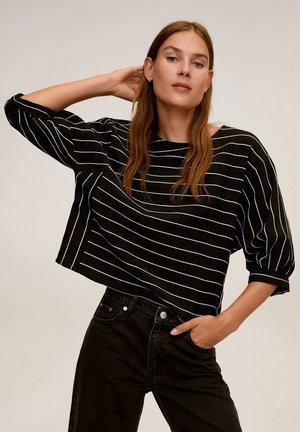 Bluzka z długim rękawem - noir